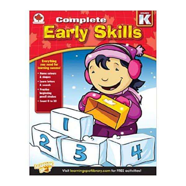 Canadian Complete Early Skills Kindergarten Workbook