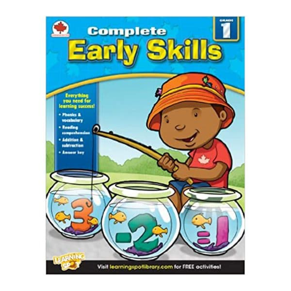 Canadian Complete Early Skills Grade 1 Workbook