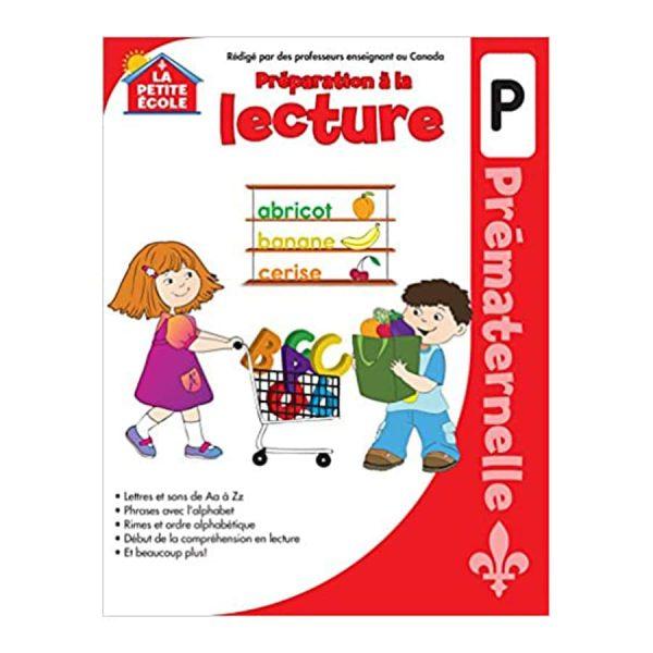 Prematernelle (Préparation à la Lecture) Canadian Curriculum Paperback