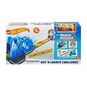 Hot Wheels Track Builder Rev 'n Launch Challenge