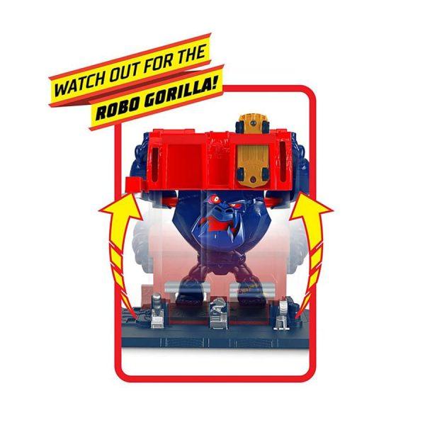 Hot Wheels City Nemesis Gorilla Rage Playset