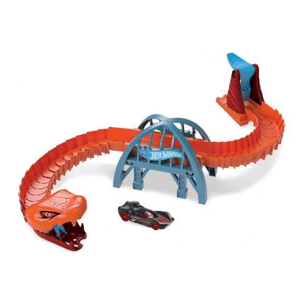 Hot Wheels City Nemesis Viper Bridge Attack Playset