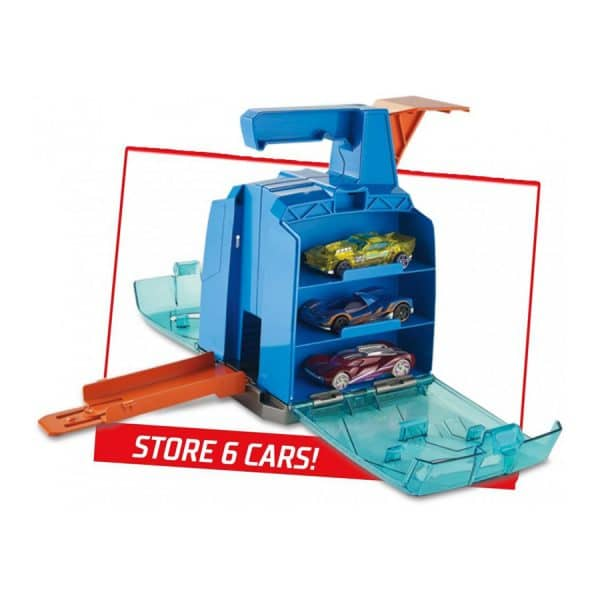 Hot Wheels Track Builder Display Launcher
