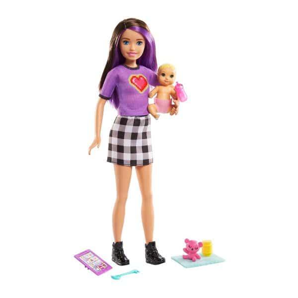 Barbie Skipper Babysitters Inc Playset (Heart Shirt)