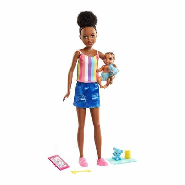 Barbie Skipper Babysitters Inc Playset (Striped Shirt)