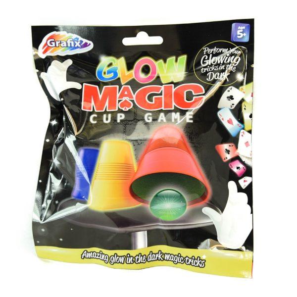 Glow Magic Cup Game Trick