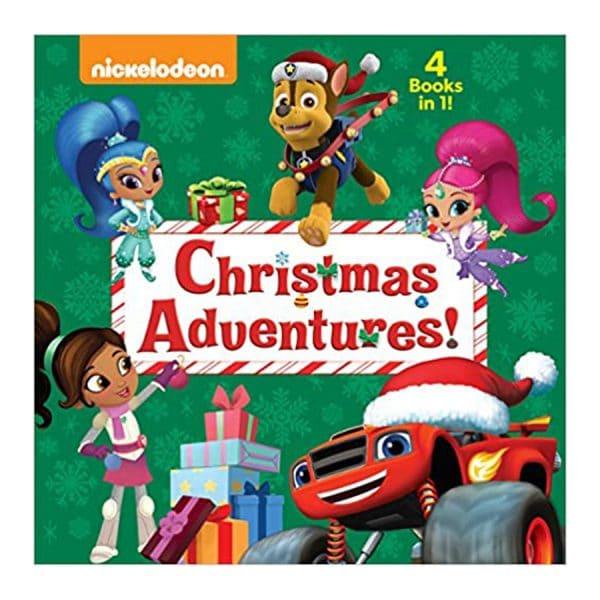 Nickelodeon Christmas Adventures (4 Books in 1) Hardcover