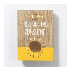 """You Are My Sunshine"" LED Light Box"