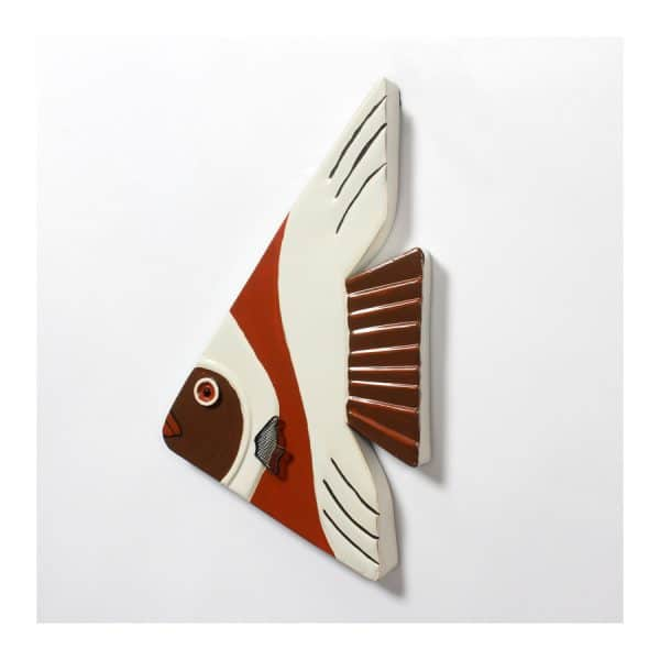 Triangle Fish Wall Décor