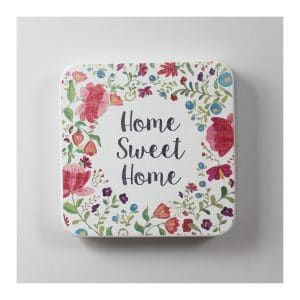 "Flower 10""x10"" Wall Metal Tile Décor"