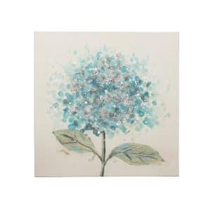 Blue Flower Oil Painting