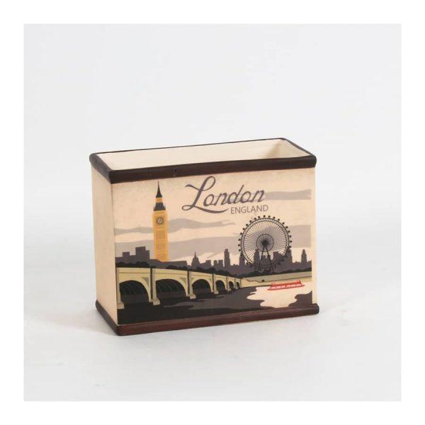 """London"" Ceramic Rect Pot"