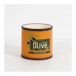 """Olive Oil"" Orange RD Pot - Large"
