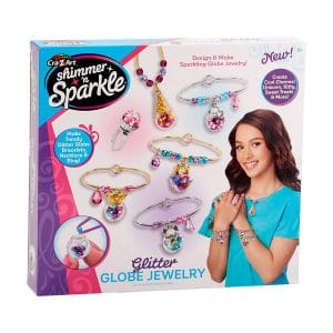 Shimmer n Sparkle Glitter Globe Jewelry Kit