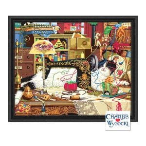 "Palmer Paints Deluxe Paint By Number -Maggie the Messmaker by Charles Wysocki 20"" x 16"""