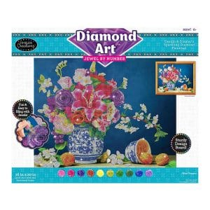 Diamond Art Jewel By Number -Floral Romance