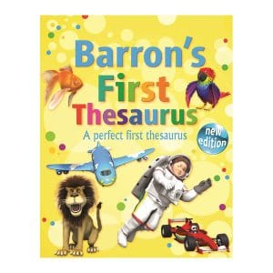 Barron's First Thesaurus Paperback
