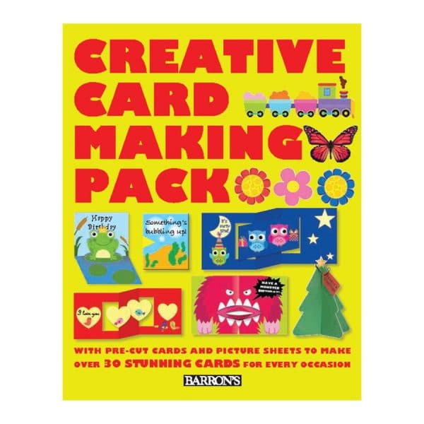 Creative Card Making Pack: With Pre-Cut Cards and Picture Sheets to Make over 30 Stunning Cards for Every Occasion Hardcover