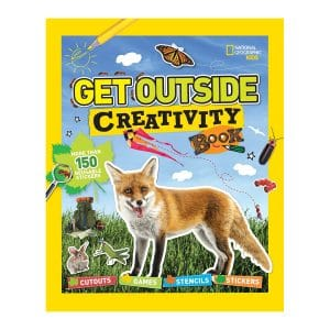 Get Outside Creativity Book: Cutouts, Games, Stencils, Stickers