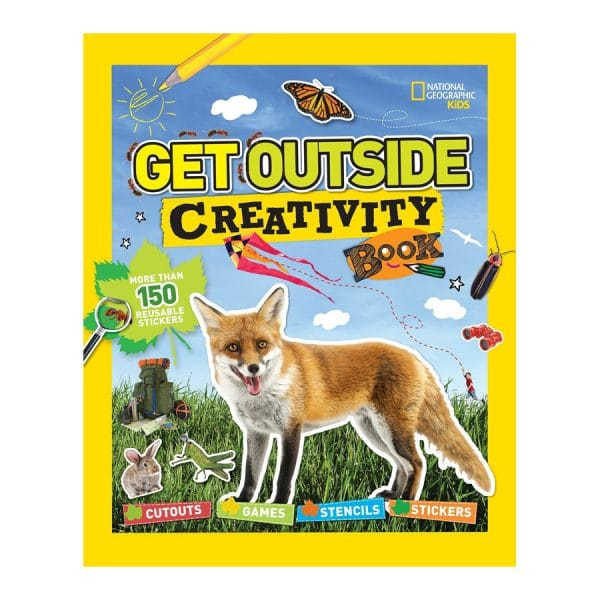 Get Outside Creativity Book: Cutouts, Games, Stencils, Stickers