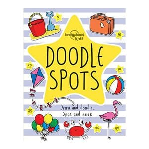 Doodle Spots (Lonely Planet Kids) Paperback