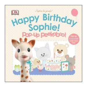 Sophie la girafe: Happy Birthday Sophie! Pop-up Peekaboo Board Book