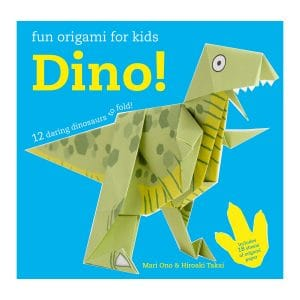 Fun Origami for Children: Dino!: 12 daring dinosaurs to fold