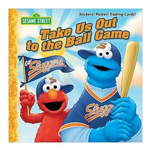 Sesame Street: Take Us Out to the Ball Game Paperback