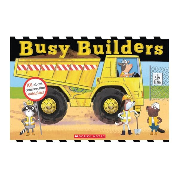 Busy Builders Hardcover