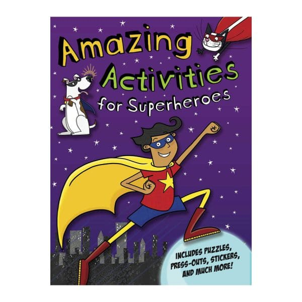 Amazing Activities for Superheroes Paperback