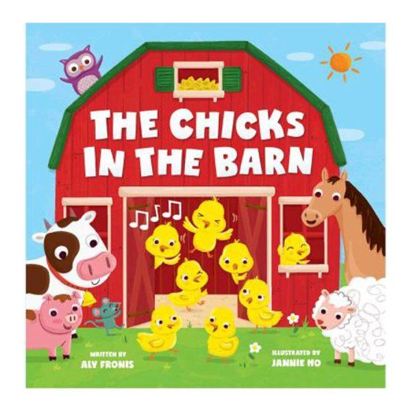 The Chicks in the Barn Board Book