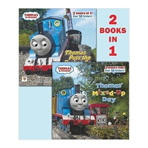 Thomas & Friends (2-Books-in-1) Thomas' Mixed-Up Day and Thomas Puts the Brakes On Paperback