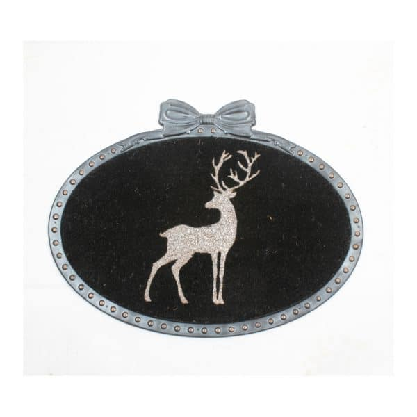 Deer Oval Mat