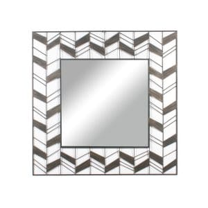 Regina Square Metal Wall Mirror