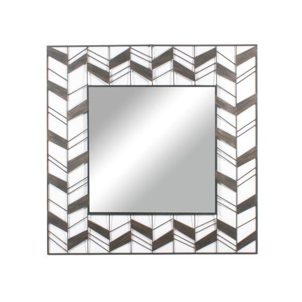 Regina Square Metal Wall Mirror