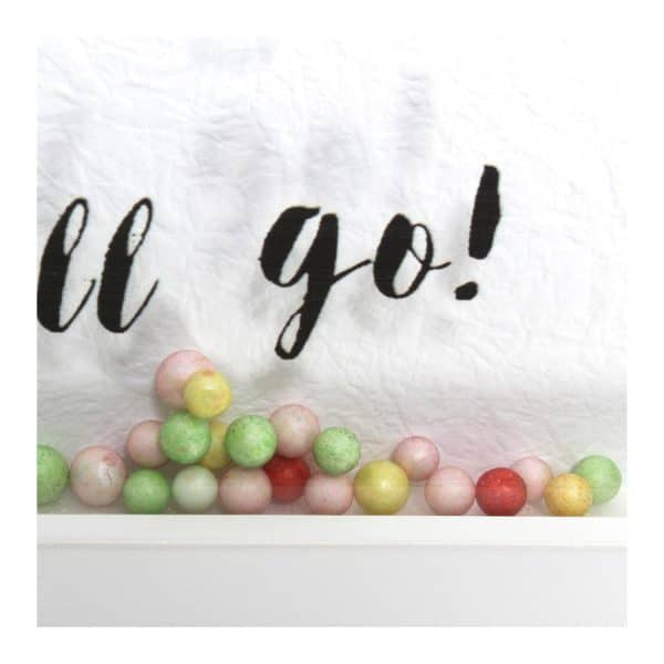 "Unicon w/ Colourful Balls Framed Art 10""L x 14""H"
