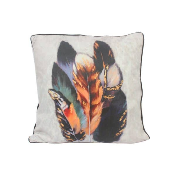 Design Throw Pillow - Feather - 45 X 45 Cm