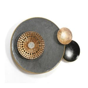 Ainslety Circles Metal Wall Accent Piece