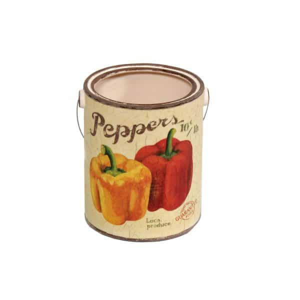 Peppers Ceramic Pail - Large
