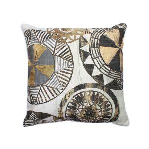 Moroco 4 Geometric Circles On Throw Pillow