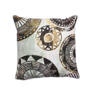 Moroco 5 Geometric Circles On Throw Pillow