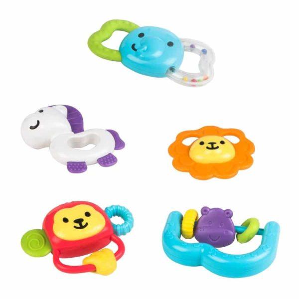 Safari Fun Teether Set
