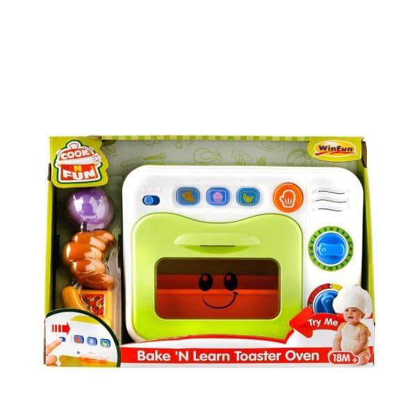 Bake N Learn Toaster Oven