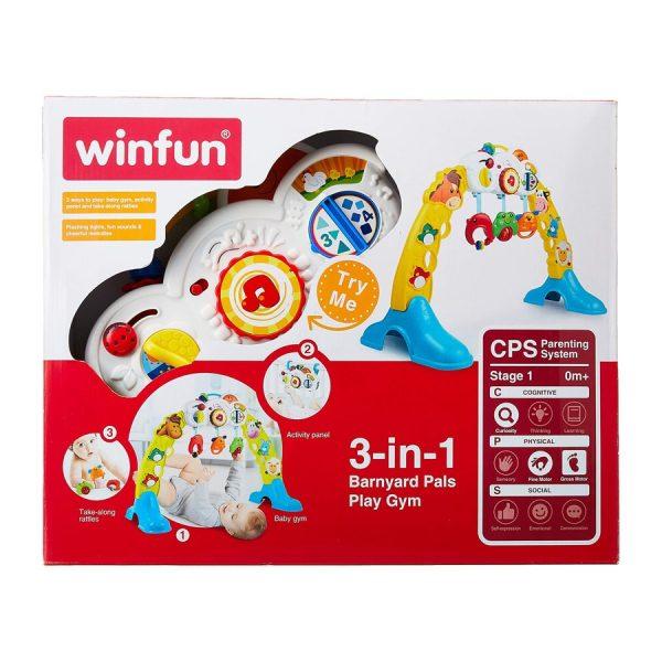 Winfun 3 in 1 Barnyard Pals Play Gym