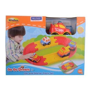 Go Go Drivers Car and Starter Track Set