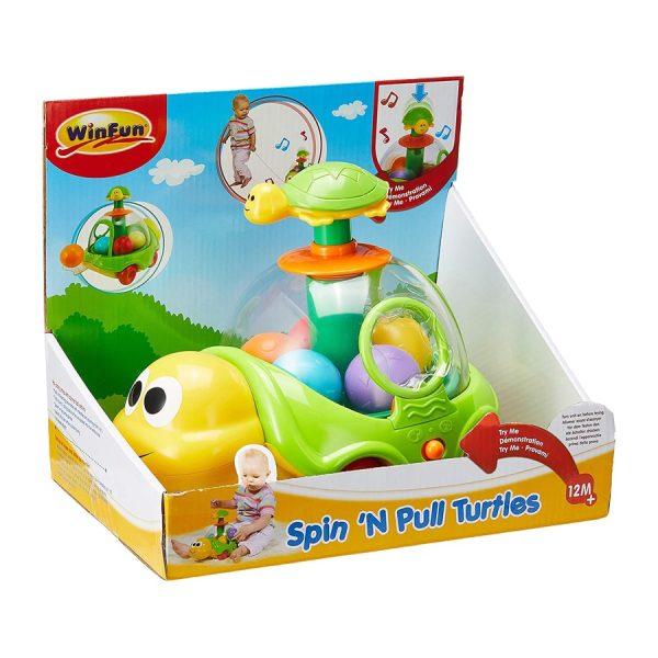 Spin N Pull Turtles