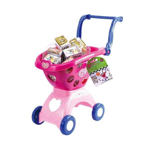 Playgo Shopping Cart - 18 Pieces