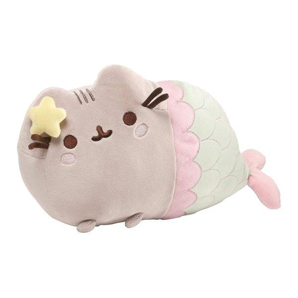 "GUND Pusheen Star Mermaid Cat Stuffed Animal Plush, Multicolor, 12"""