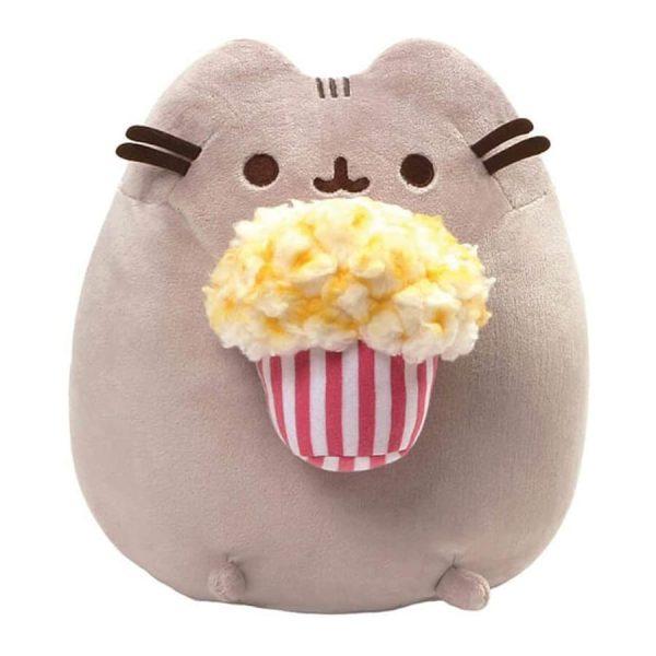 Gund Pusheen - Snackable Popcorn Plush Stuffed Animal