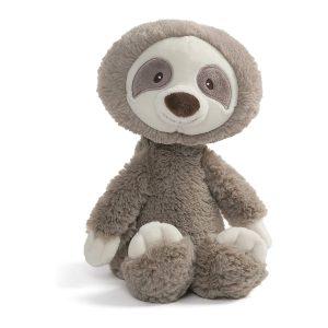 "GUND Toothpick Sloth Plush Stuffed Animal 12"", Taupe"